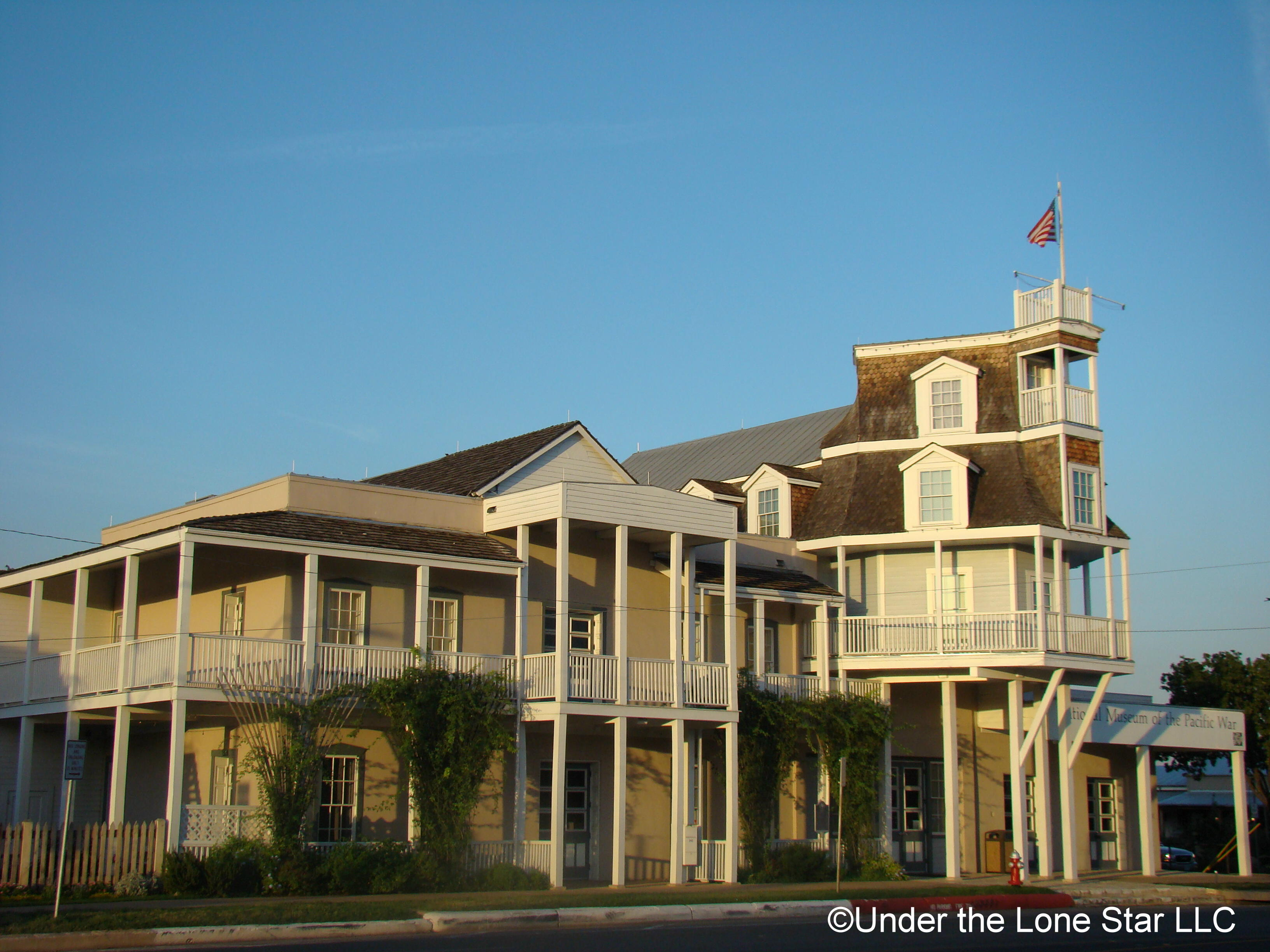 Nimitz Museum hotel Fredericksburg Texas National Museum of the Pacific War WWII