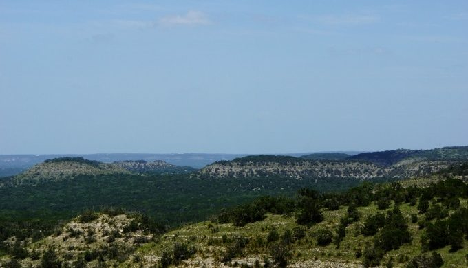 Devils backbone; texas; hill country; john spiars; under the lone star