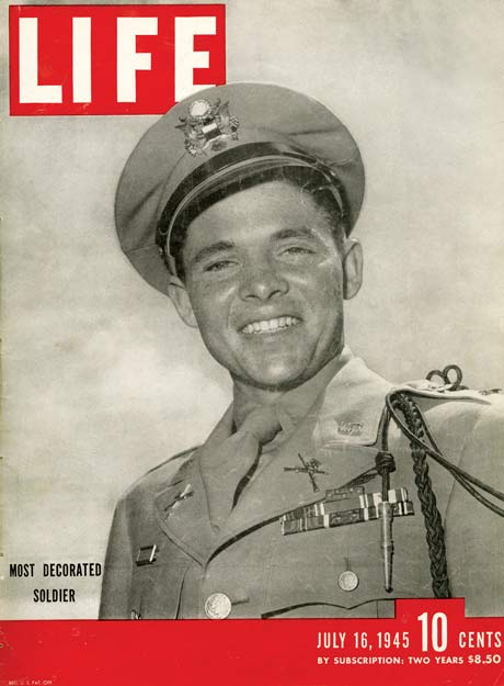 Audie Murphy; war hero; world war ii; medal of honor; soldier; american hero
